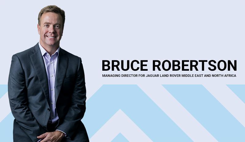 Bruce Robertson- Managing Director, Jaguar Land Rover MENA