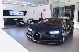 Bugatti Opens New Showroom in Toronto