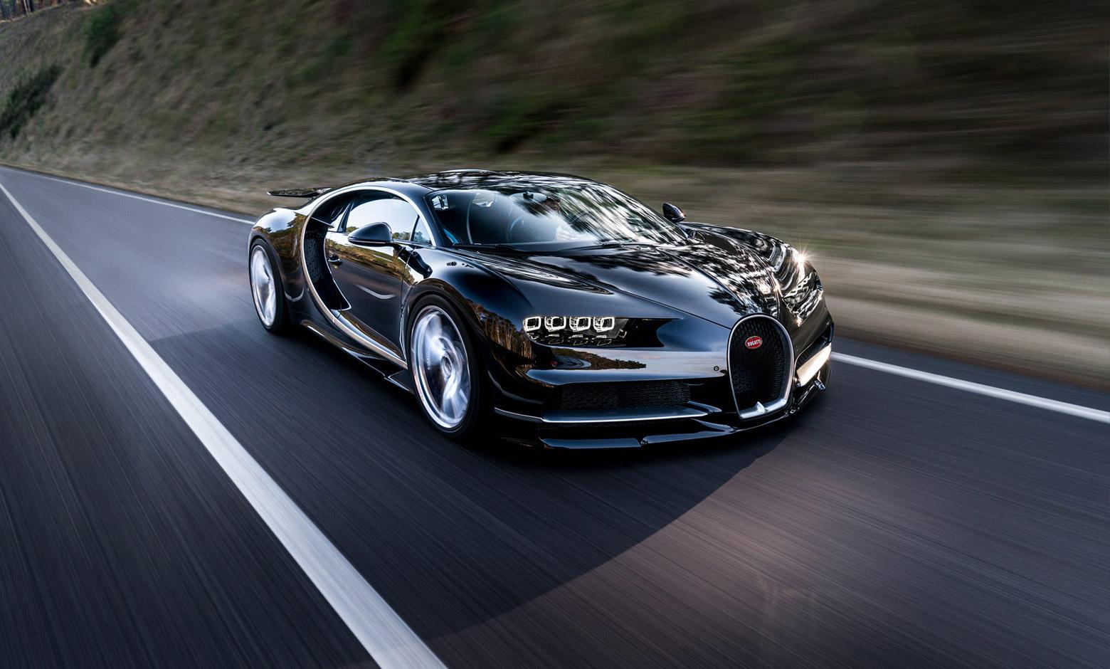 Bugatti Chiron Sets Record for Fastest Production Car