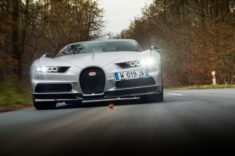 Evo Magazine Selects Bugatti Chiron as Best Hypercar of the Year