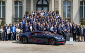 Bugatti Makes 100th Chiron for Customer in the Middle East