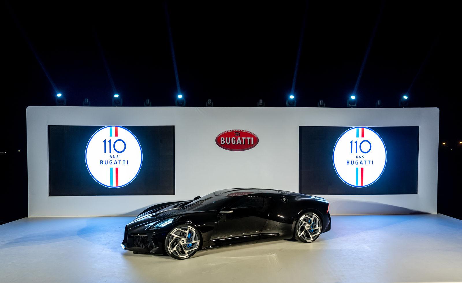 Bugatti Shines in Dubai
