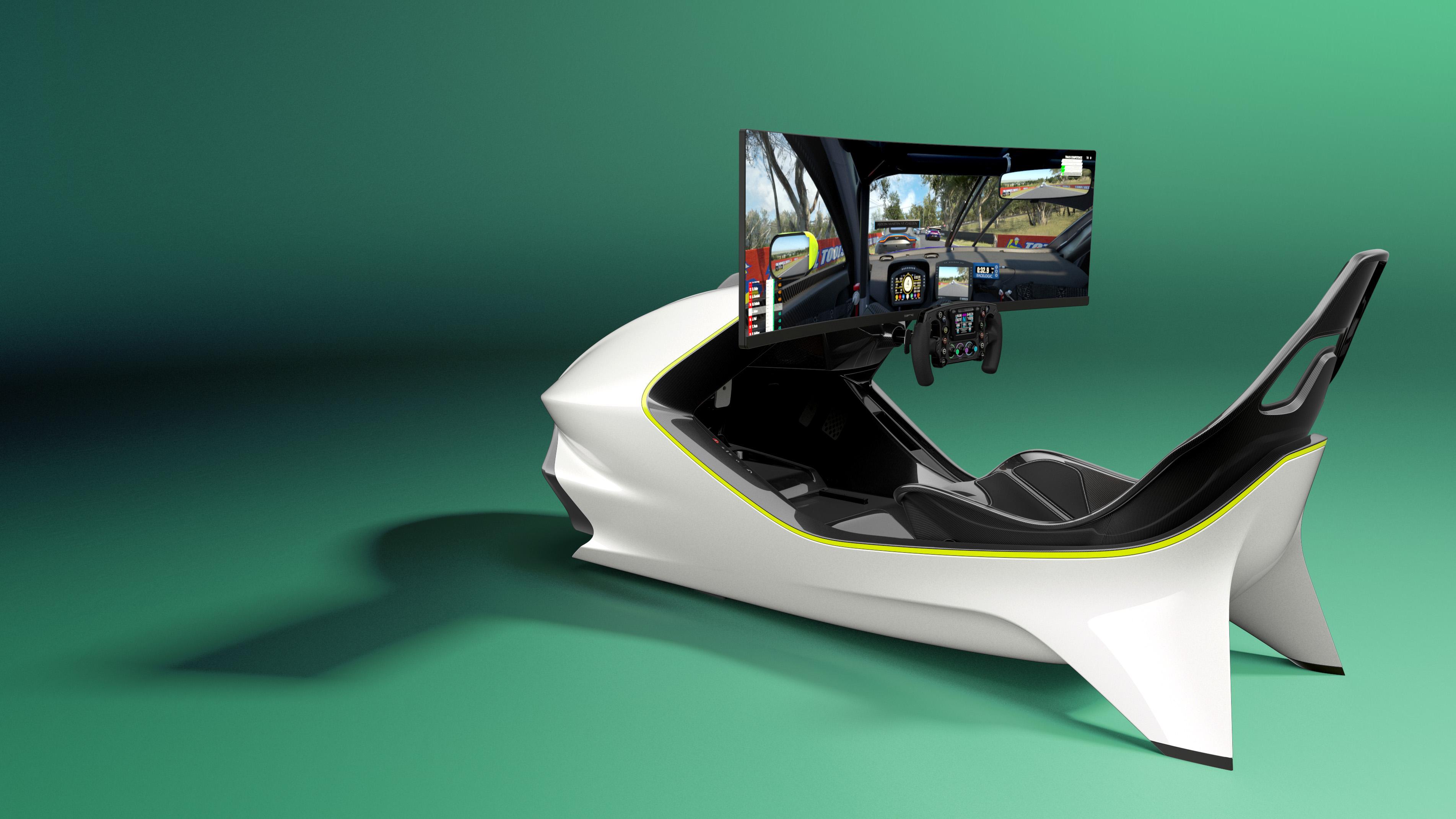 Aston Martin reveals first racing simulator - the AMR-C01