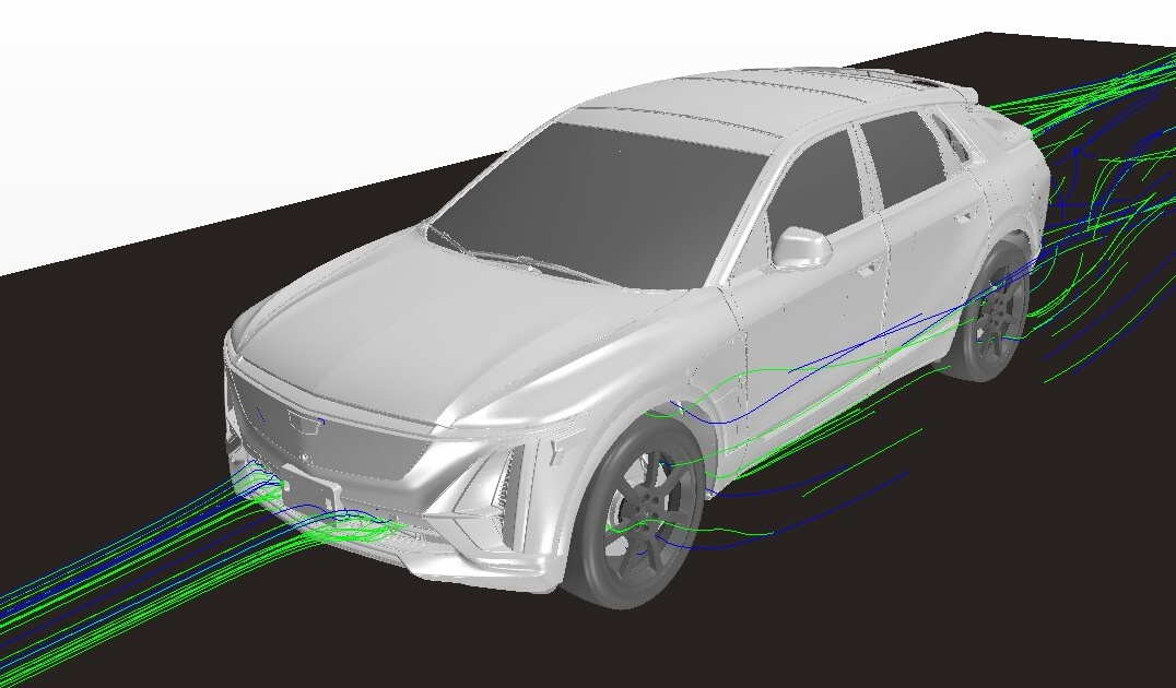Cadillac LYRIQ's Development Accelerated by Virtual Testing and Validation