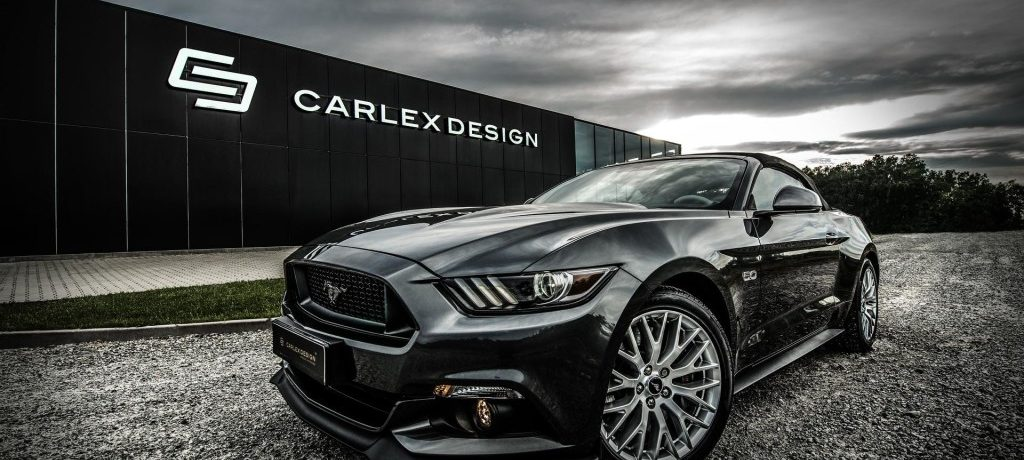 Carlex Design Highlights Design Expertise with Ford Mustang GT interior