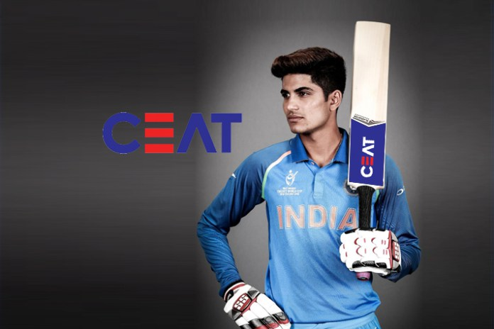 Ceat Signs Endorsement Deal with Star Cricketer Shubman Gill