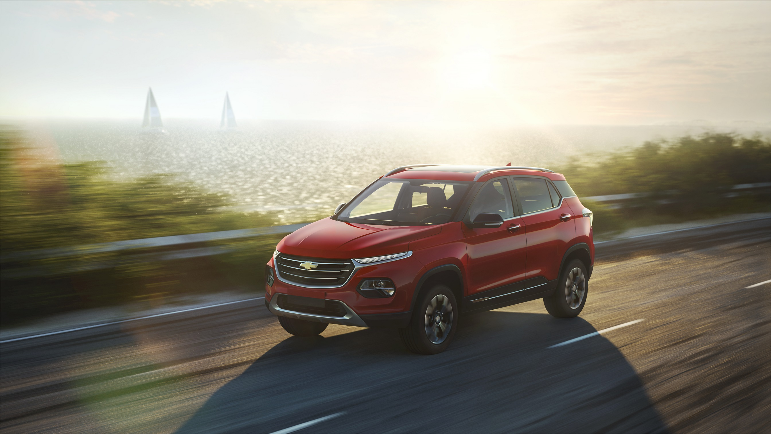 Chevrolet introduces a brand-new compact SUV to the Middle East