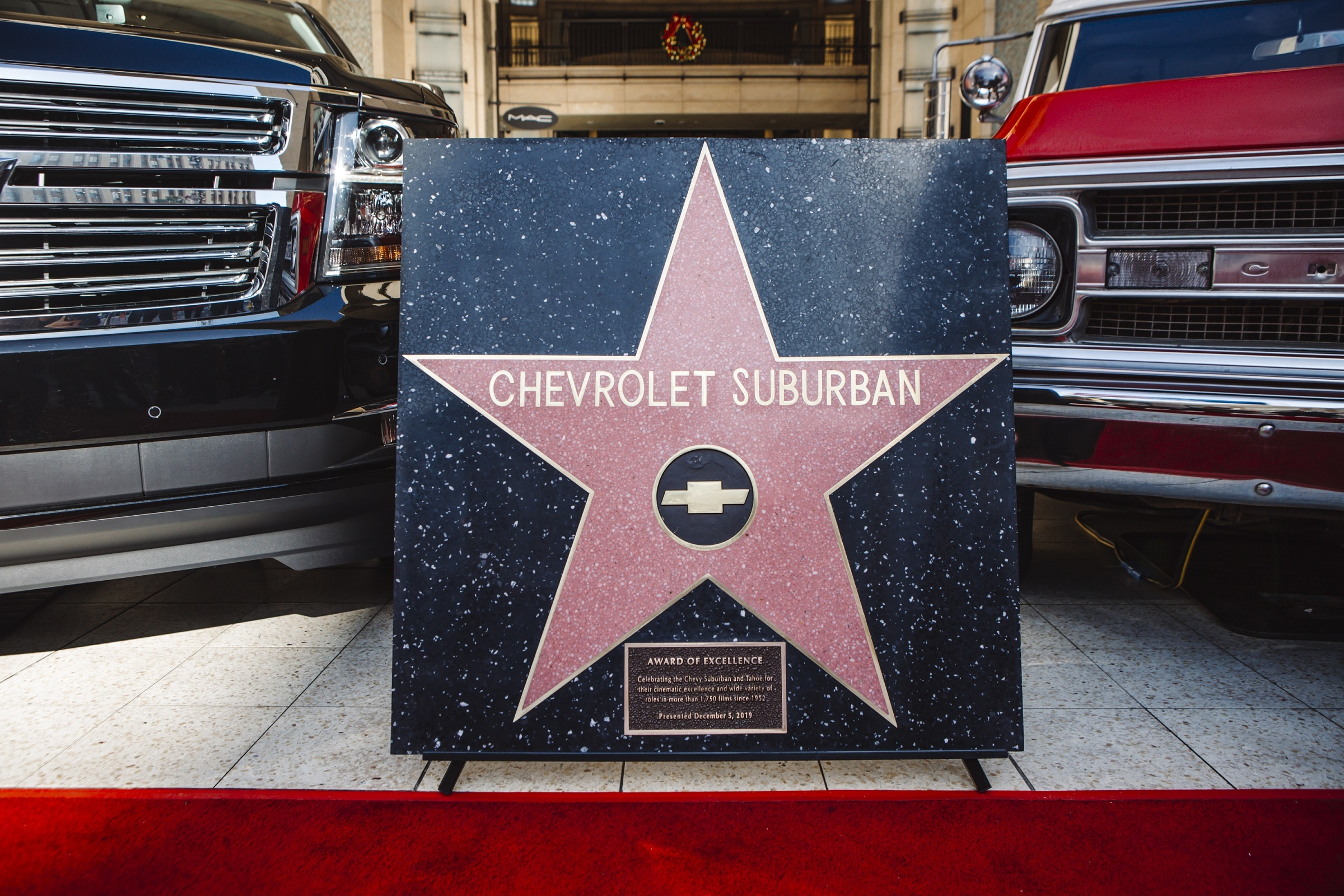 Chevrolet Suburban Becomes First Vehicle to Earn Star at Hollywood Boulevard