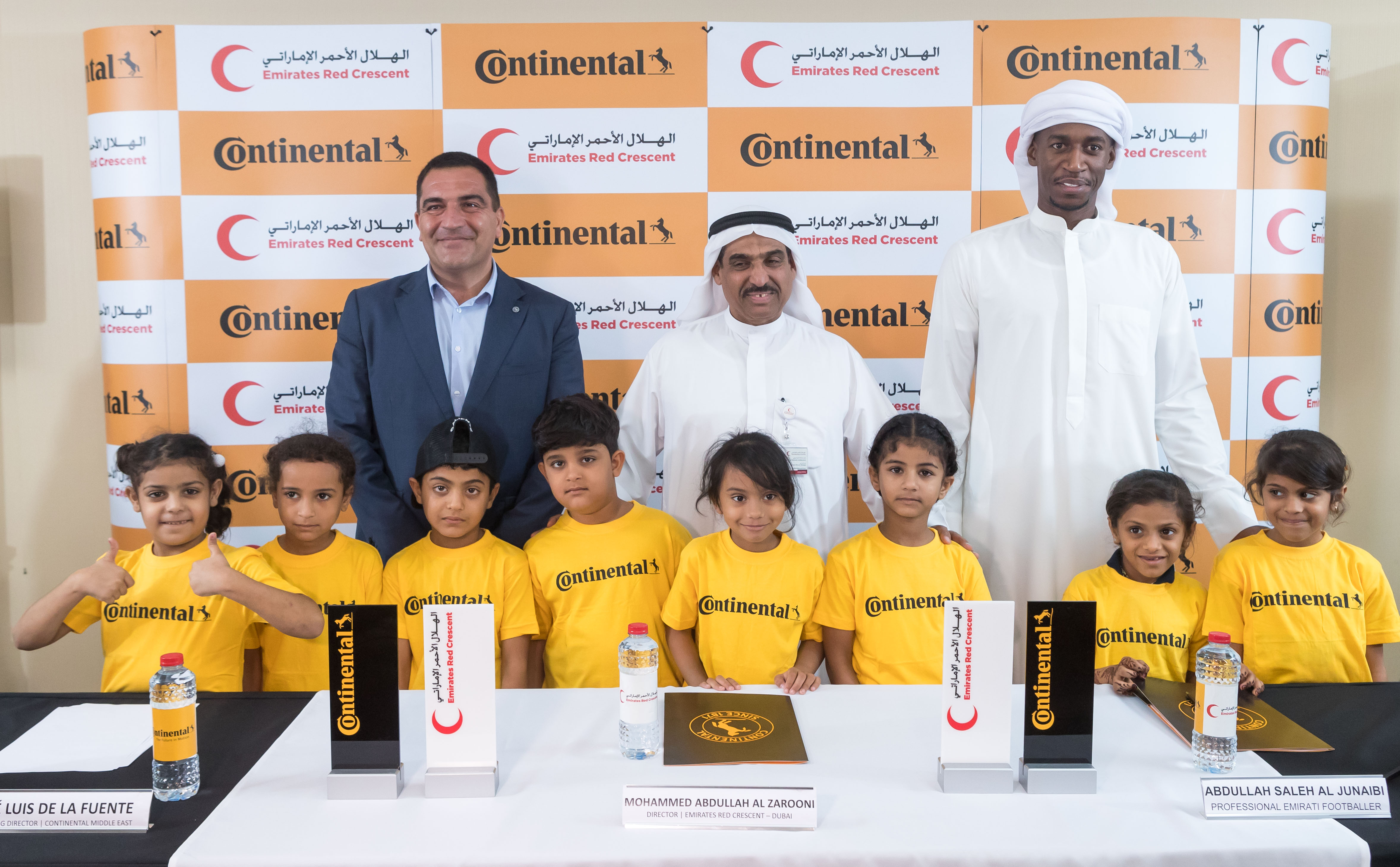 Continental and Emirates Red Crescent to Give Underprivileged Children Chance to be Official Mascots at AFC Asian Cup UAE 2019