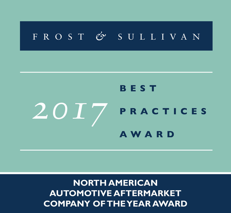 Frost & Sullivan Recognizes Delphi Technologies as Company of the Year