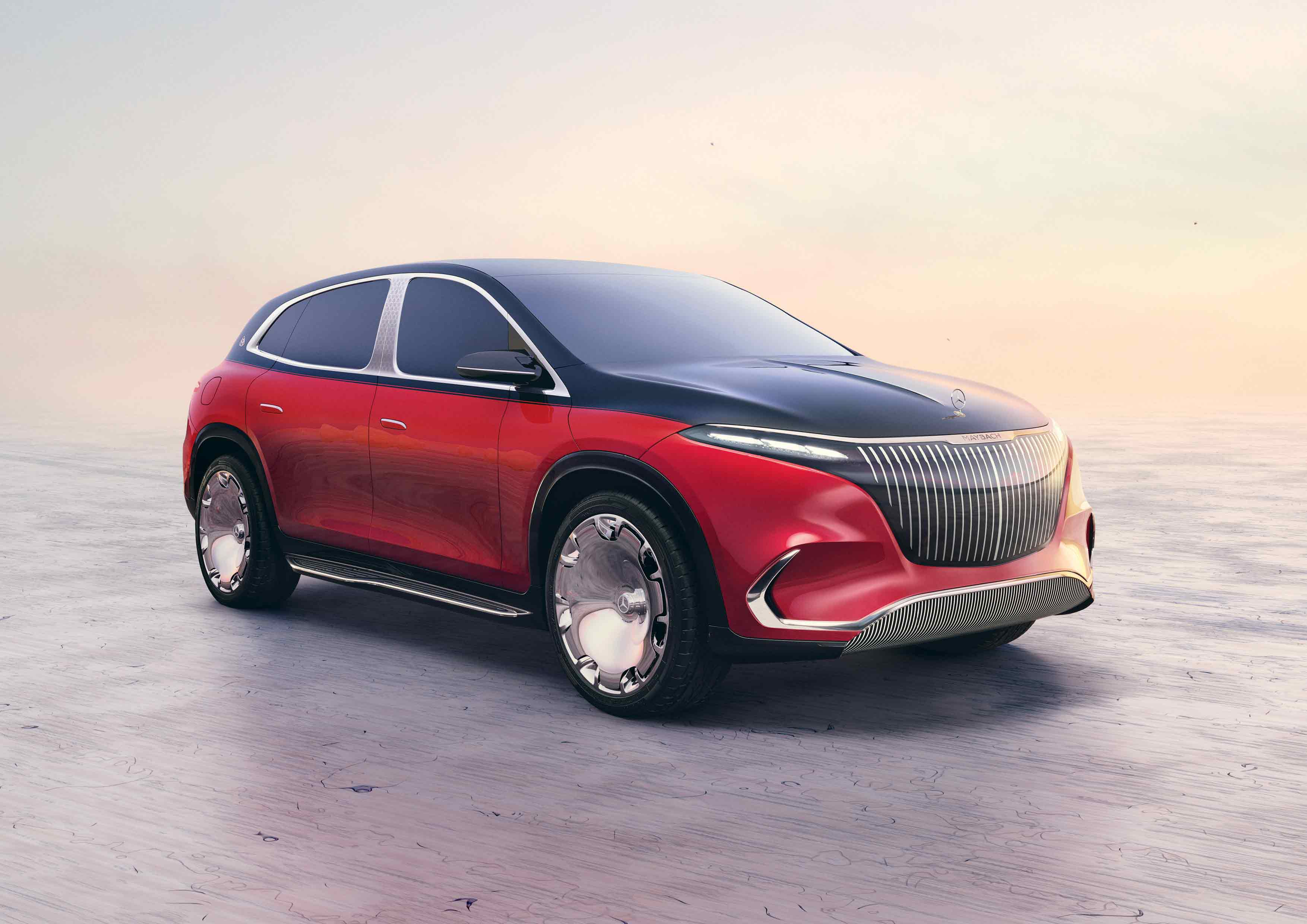 Premiere of the Concept Mercedes-Maybach EQS