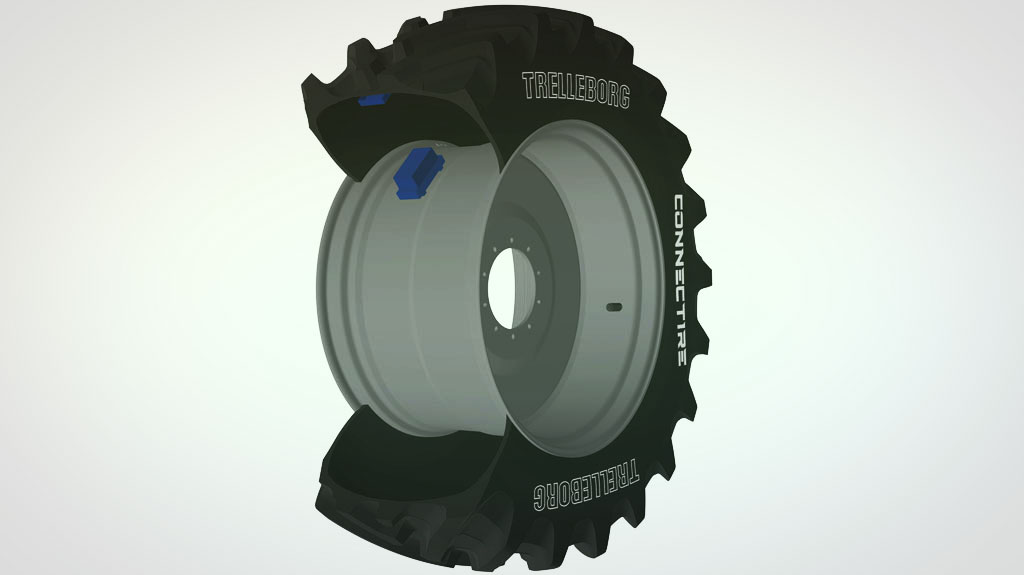 Trelleborg Announces Debut of ConnecTire Smart wheel