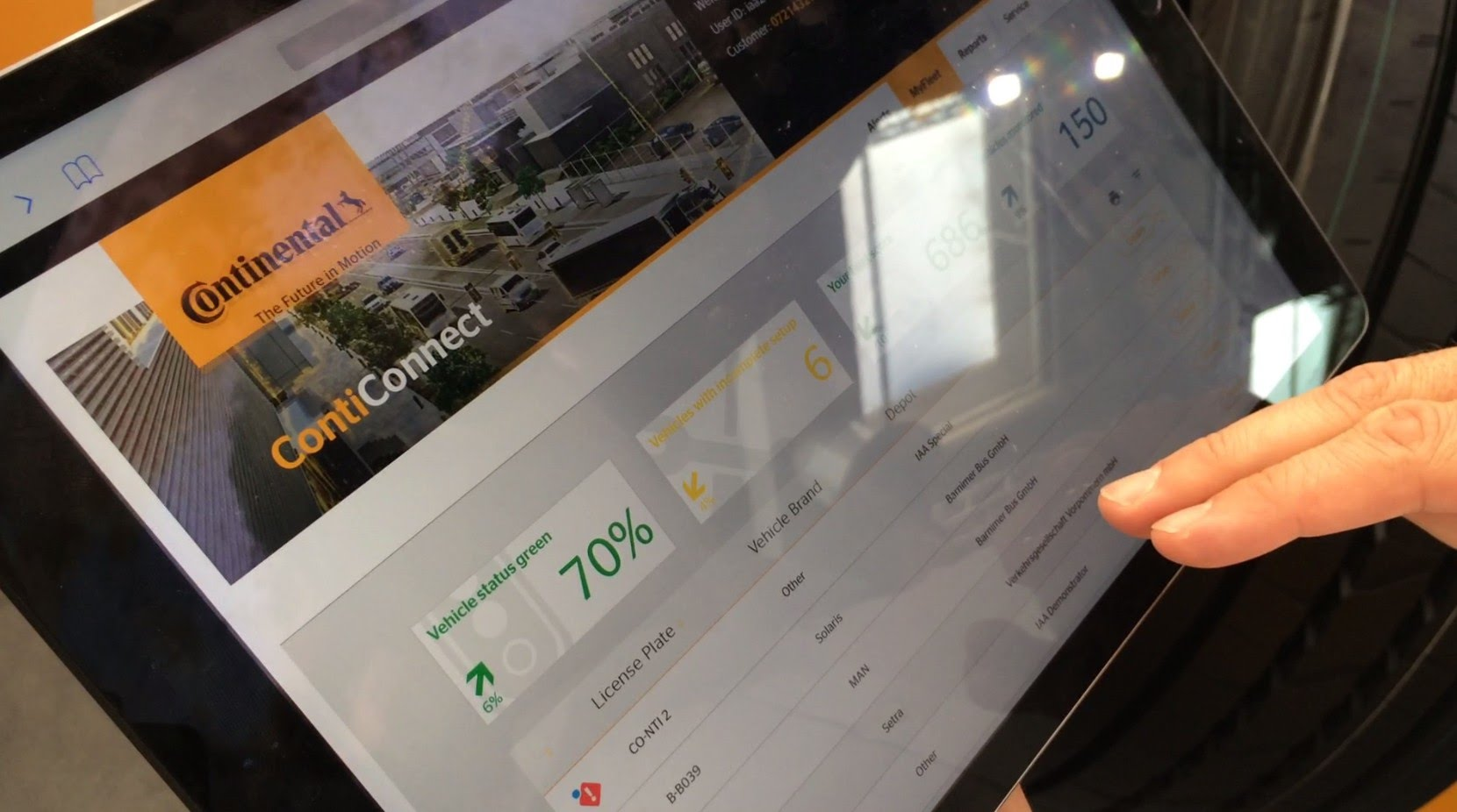 Continental Showcases ContiConnect Live at IAA Show