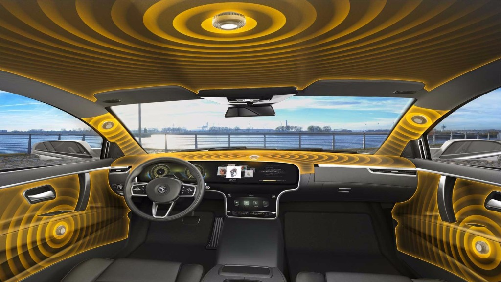 Continental Develops New Automotive Audio system without Speakers