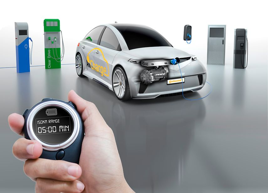Continental Uses CES Asia 2018 to Present New Technologies