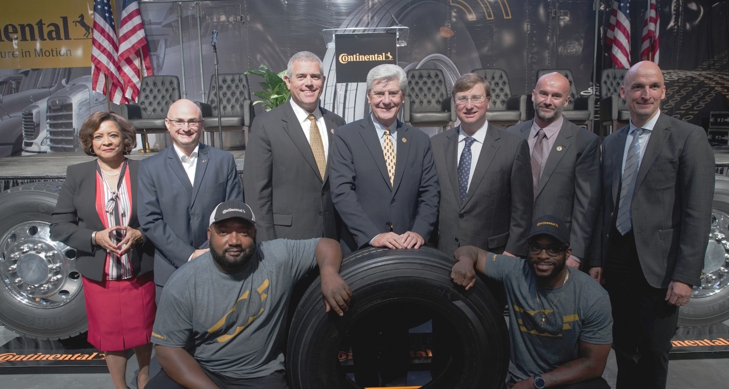 Continental Opens New Plant in the United States
