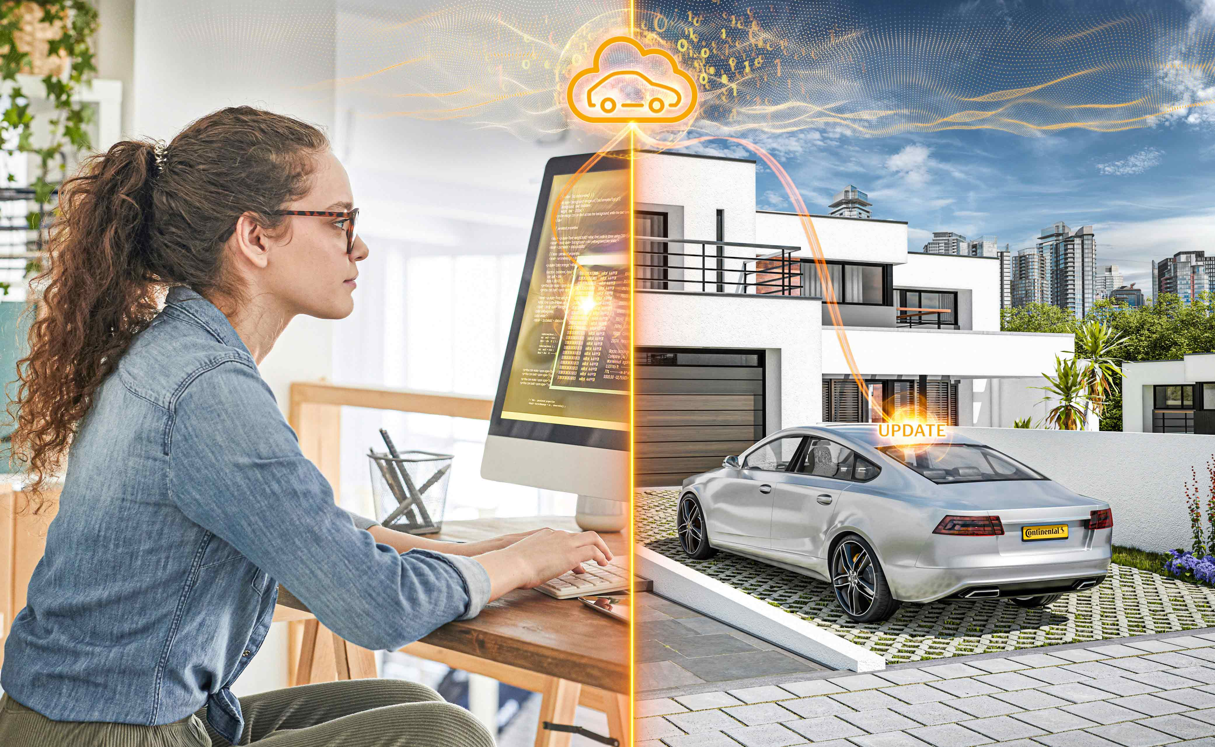 Continental and Amazon Web Services Create Platform for Automotive Software