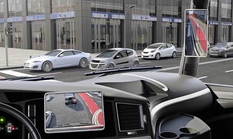 Continental Develops New Digital Rear-View Mirror