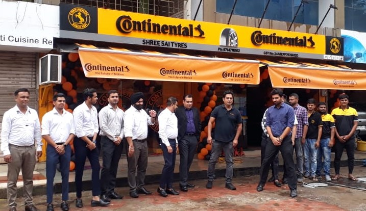 Continental Tires Expands its Retail Presence in Western India with 'Conti Premium Drive' Image Stores