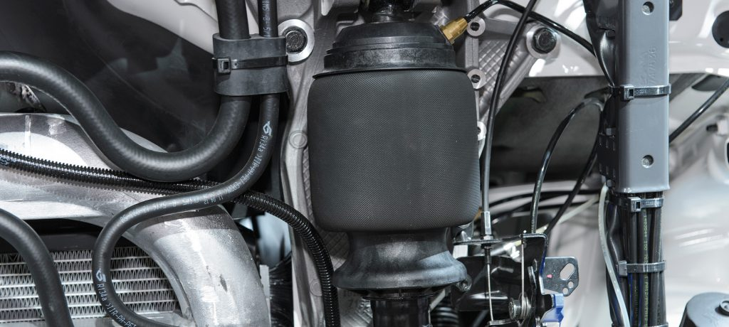 Air springs for extreme temperatures – Continental is fitted in the Swedish commercial vehicle fleet as standard
