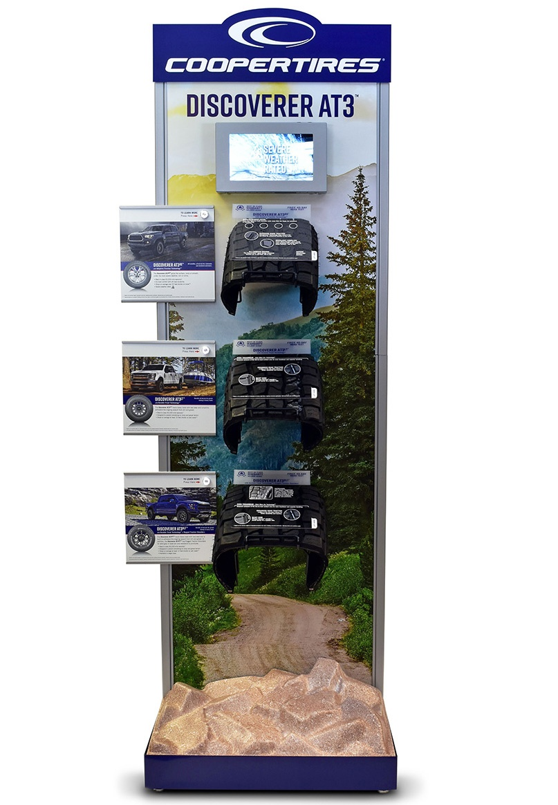 Cooper Tire Earns Merchandising Award for Interactive Marketing Display of Discoverer AT3