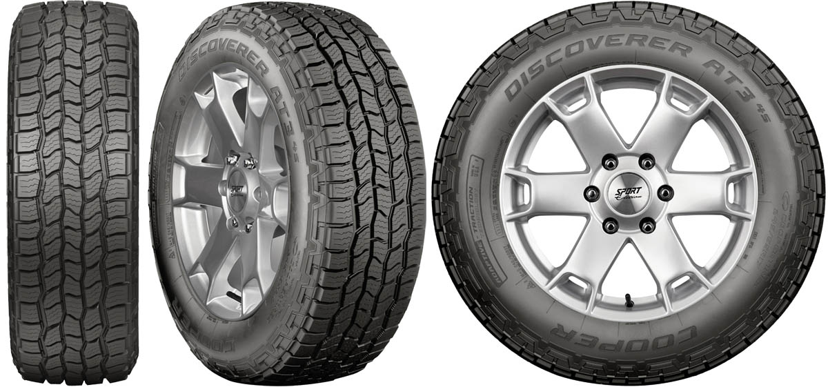 Cooper Tire's Discoverer AT34S Earns New Product Award at SEMA