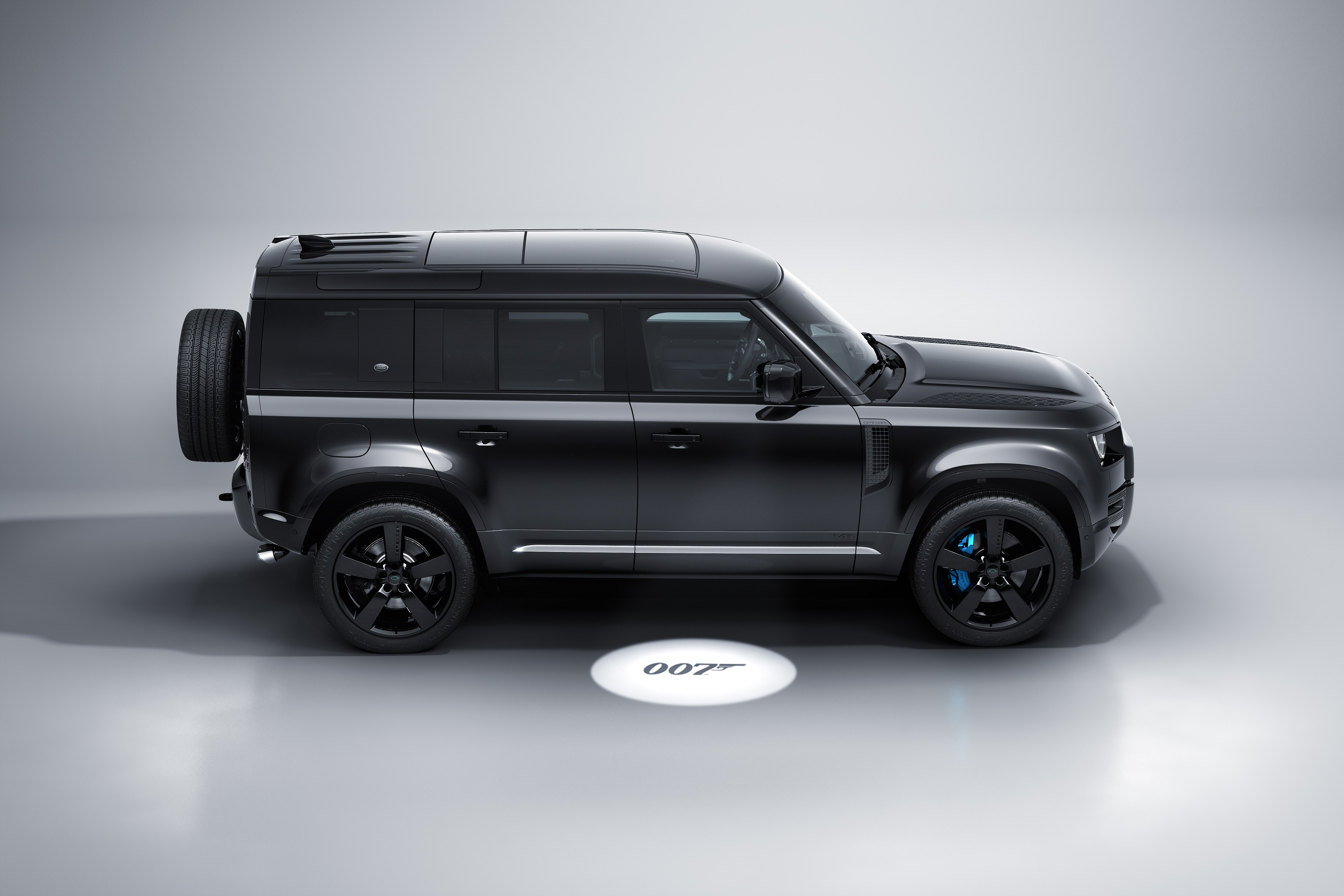 New Land Rover Defender V8 Bond Edition Inspired By 'No Time To Die'