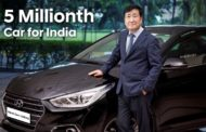 Hyundai Crosses Production Milestone of 5 Million cars in India