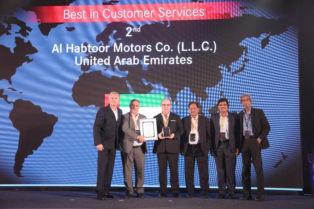 Al Habtoor Motors Receives Award for Best Customer Service
