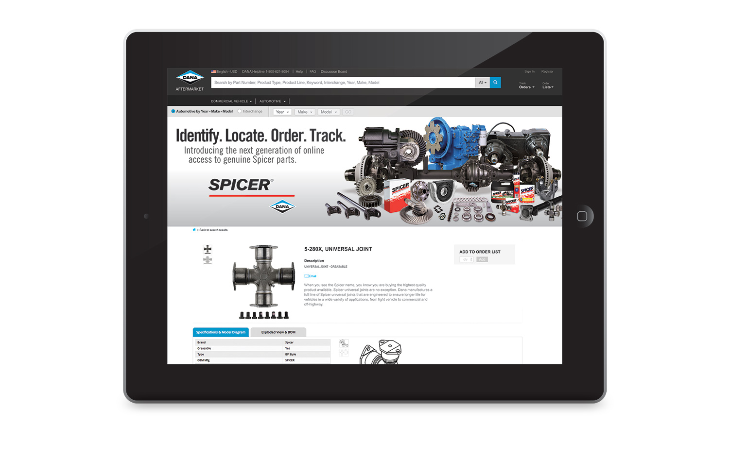 Dana Expands Aftermarket E-Commerce Platform for EMEA Region