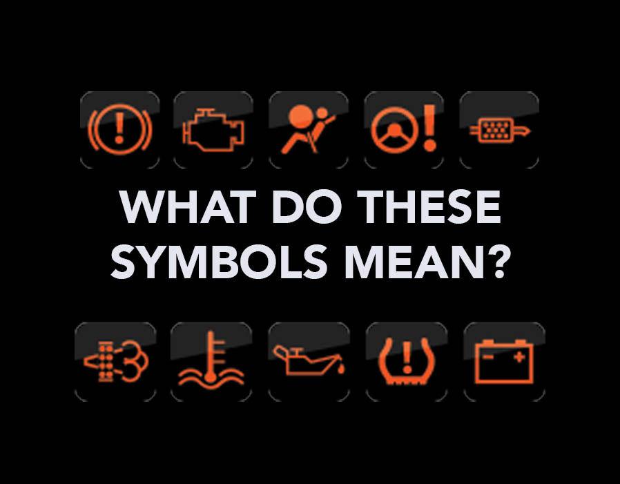 Most Motorists Unaware Of Dashboard Warning Symbols