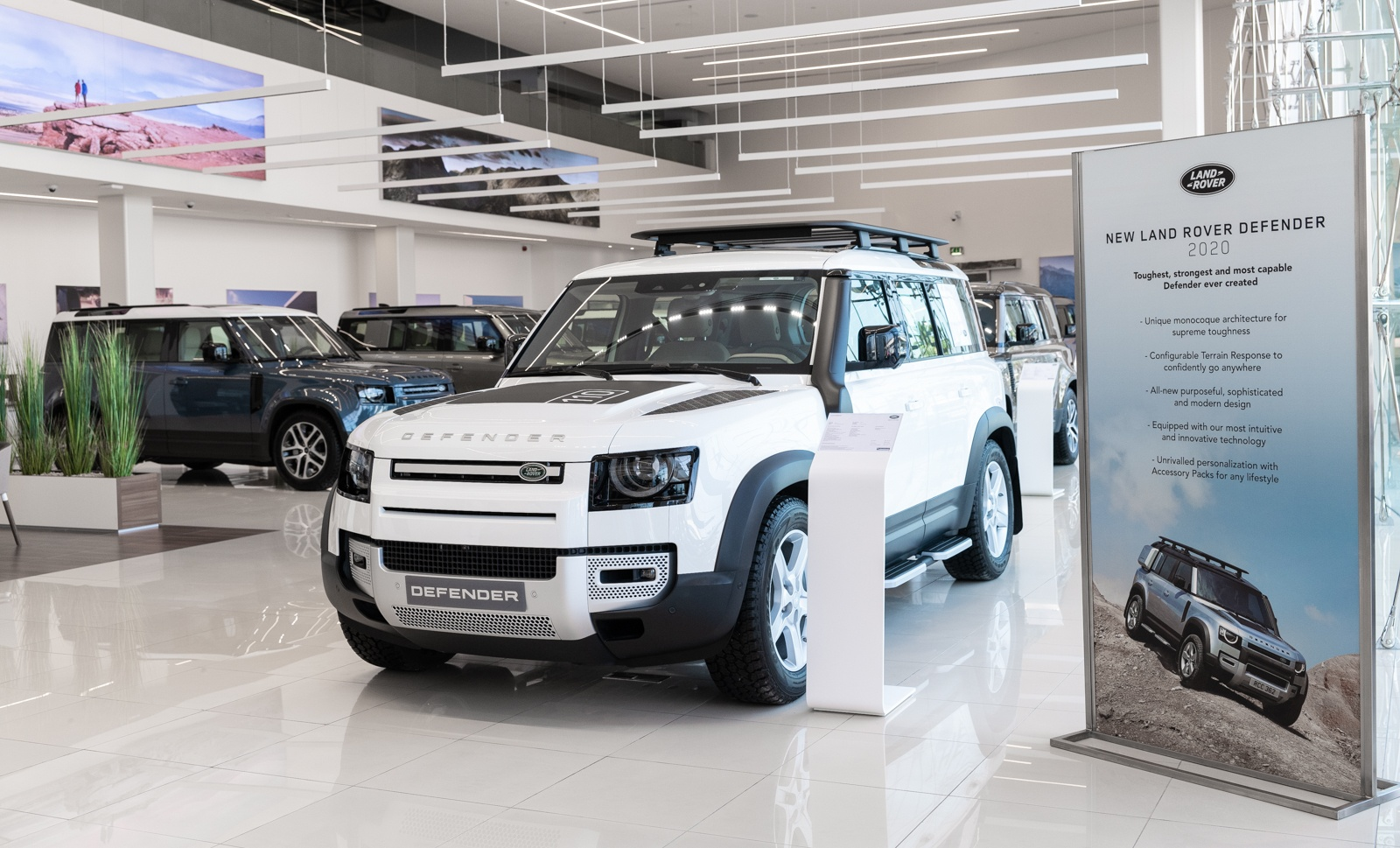 All-New Land Rover Defender arrives at Al Tayer Motors and Premier Motors showrooms in the UAE