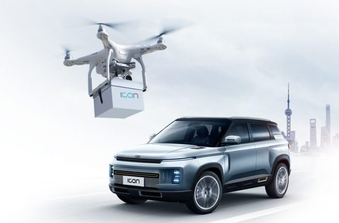 Geely Takes Contactless Delivery to the Next Level with Drone deliveries