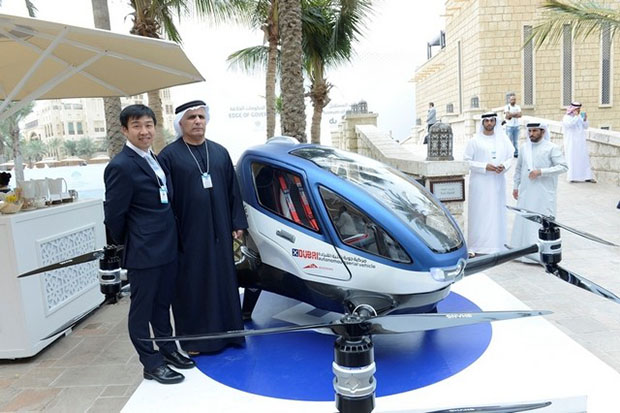 Dubai Plans to Launch Flying Taxis