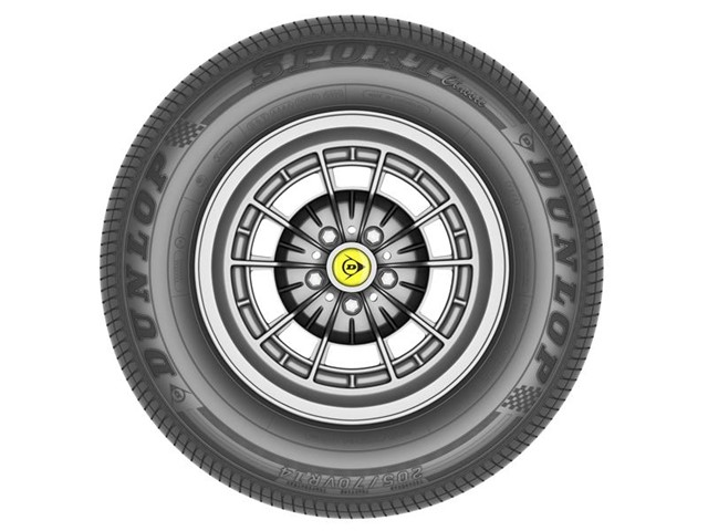 Dunlop Launches High Performance Tire for Classic Cars named Sport Classic
