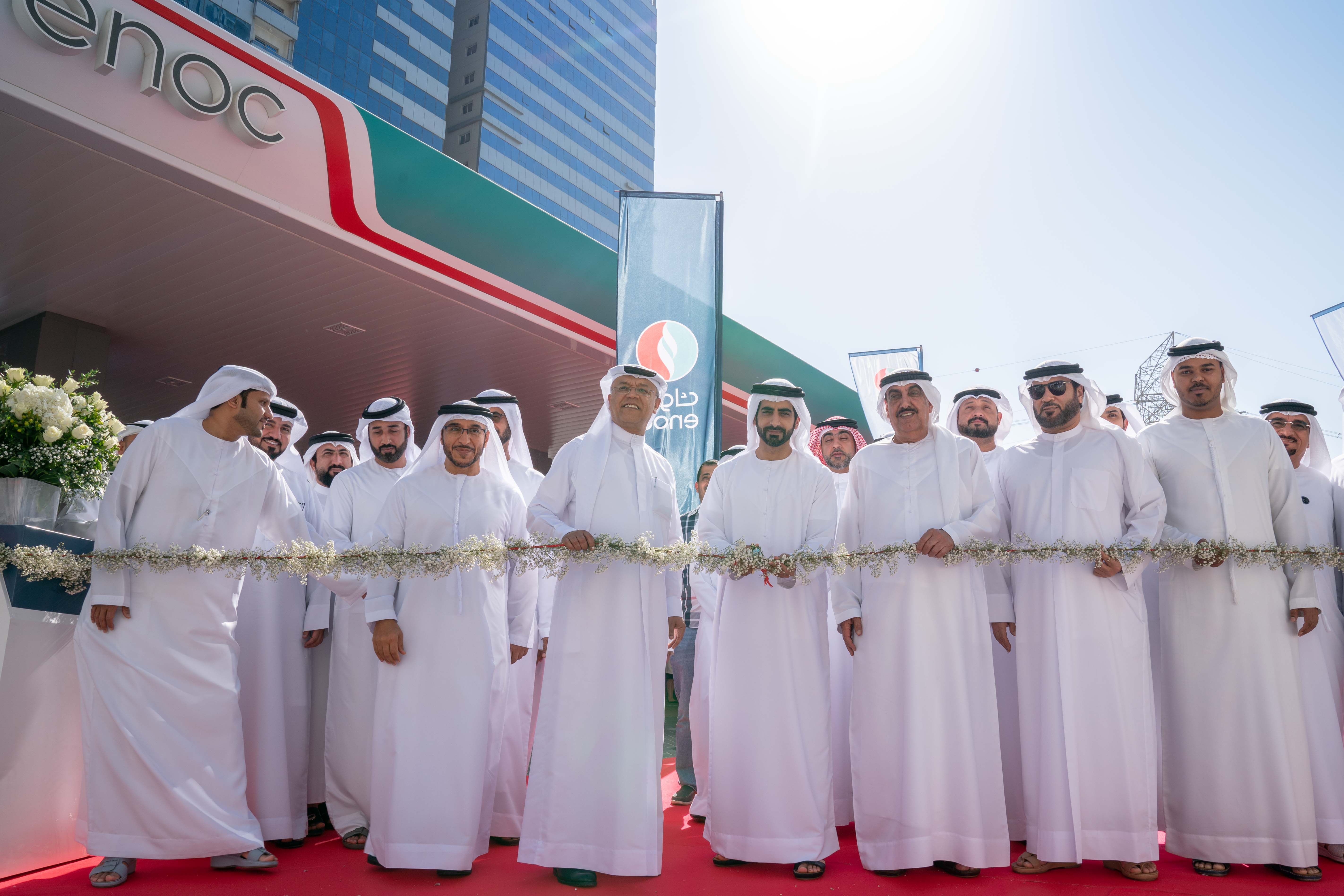 ENOC Opens New Service Stations in Sharjah