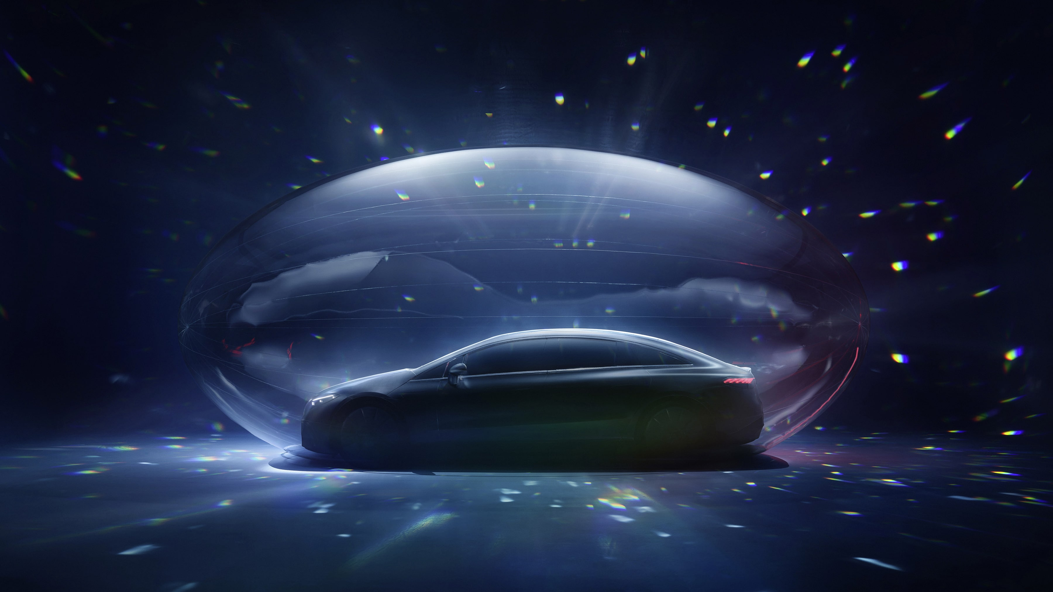 EQS World Premiere on Mercedes me media – digital launch of the progressive electric sedan
