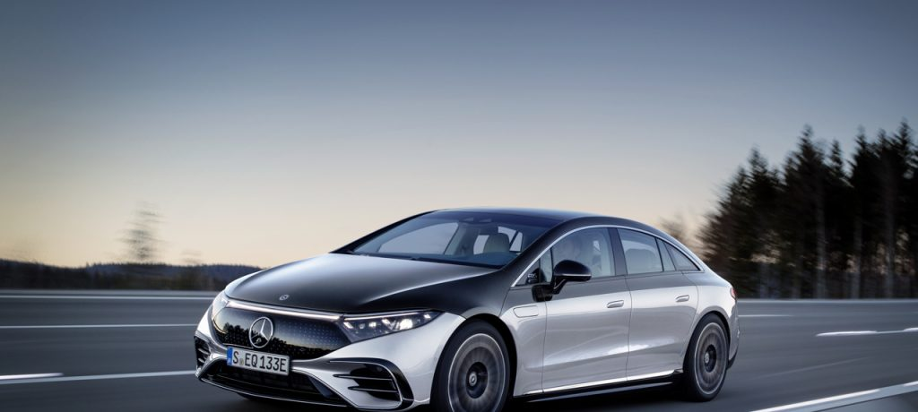 The EQS, the first electric vehicle in the luxury class, Makes Middle East Debut at GITEX 2021