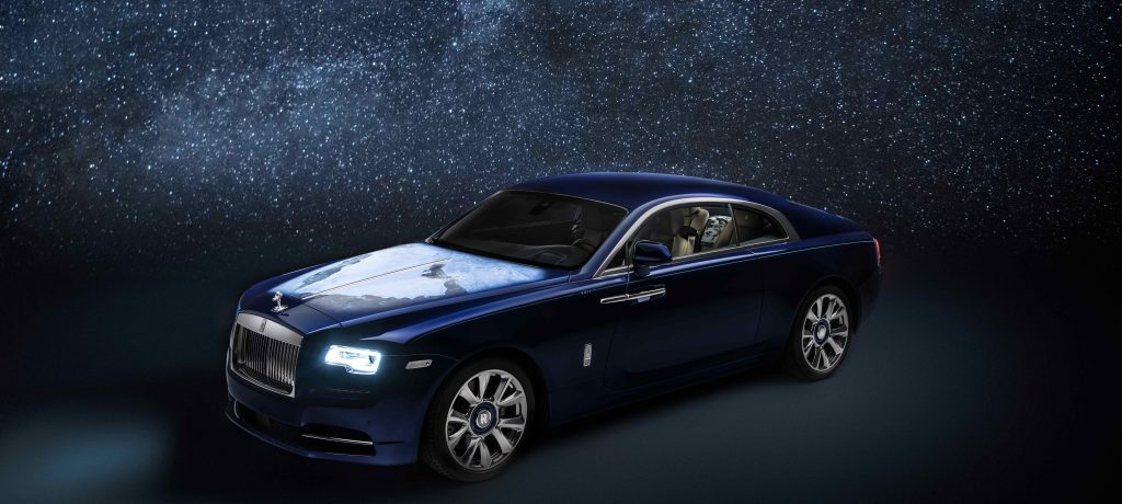 Bespoke 'Wraith - Inspired By Earth'  Touches Down In Abu Dhabi