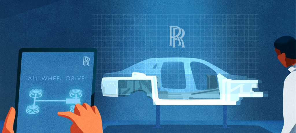 Rolls-royce reveals significant engineering advances developed for new ghost