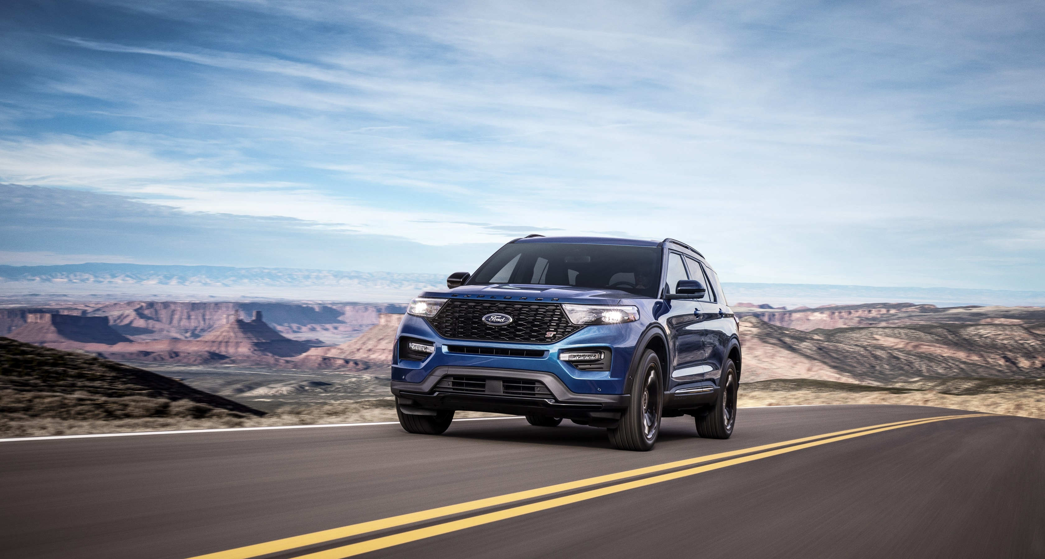 Tuned Ford Explorer ST and No-Compromise All-New Explorer Hybrid Arrive in the Middle East