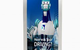 New Robot to Give truck drivers Regular feedback on their performance