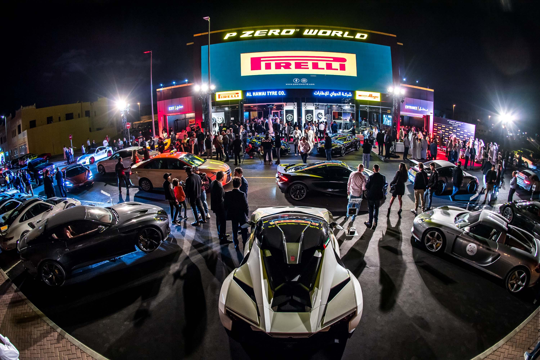 """Pirelli Brings Signature """"Tyre Hotel"""" Concept to UAE"""
