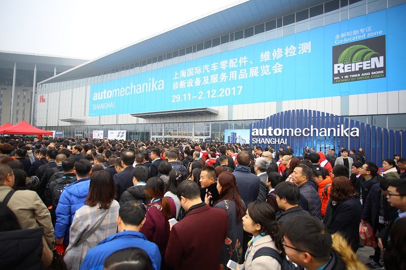 Automechanika Shanghai 2017 Proves to Be Resounding Success