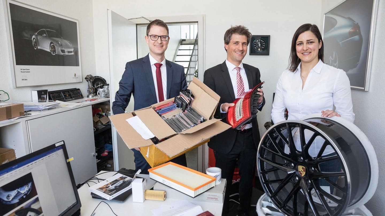 Porsche Confiscates Fake Items Worth Almost USD 70 Million in 2018