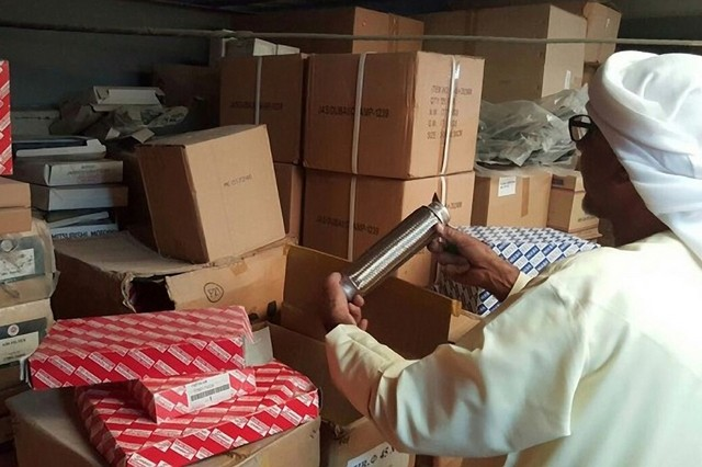 UAE Government Seizes AED 15 Million Worth of Fake Parts from Al Ain warehouse
