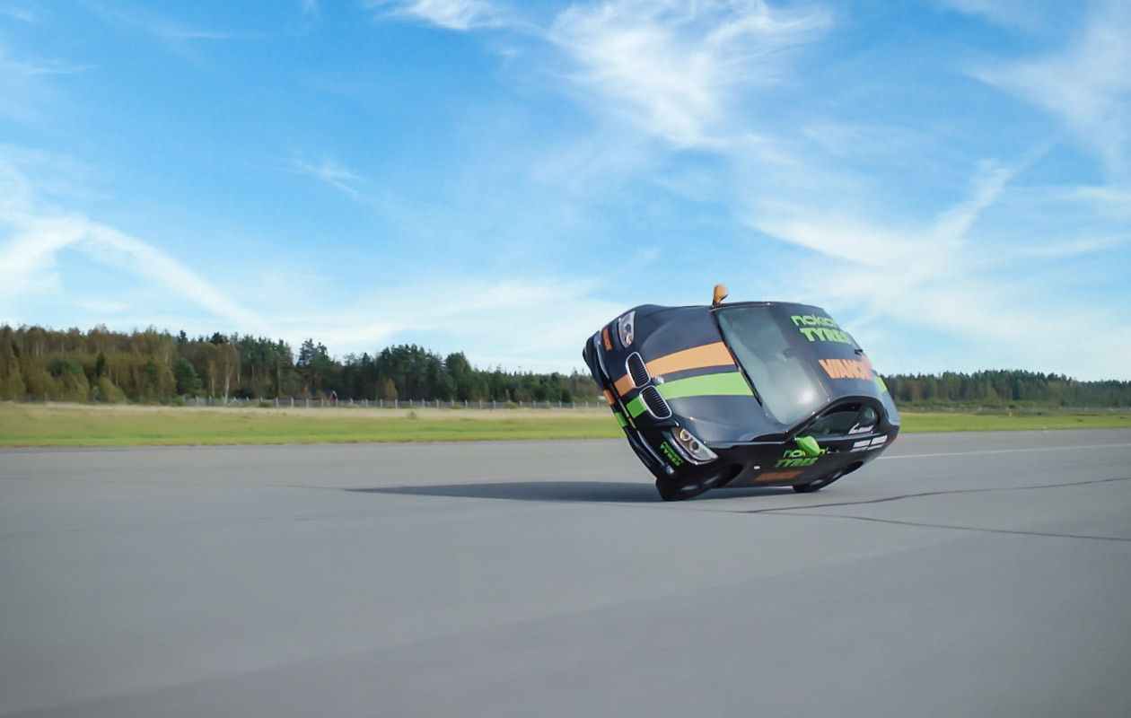 Stunt Driver uses Nokian Tyres to Set World Speed Record