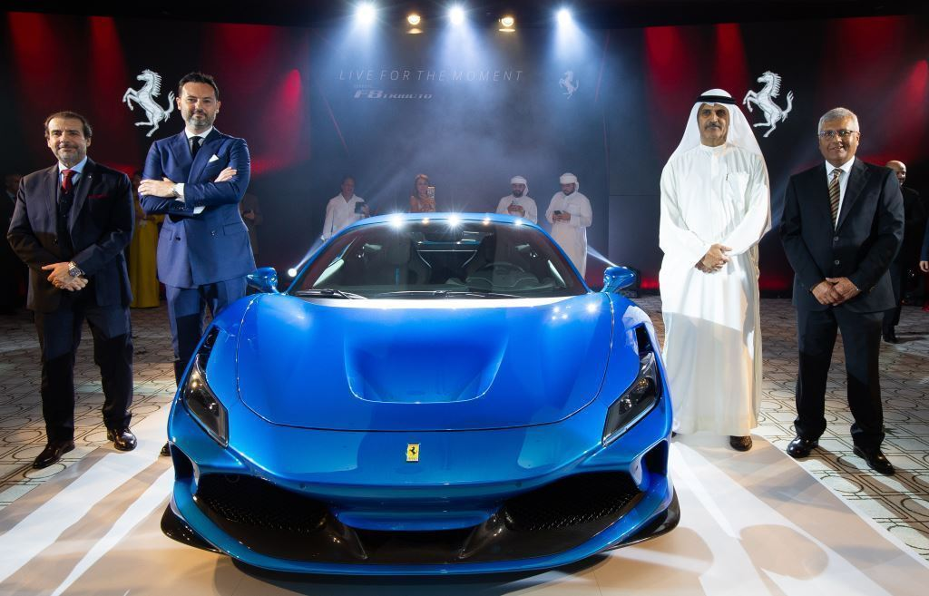 Al Tayer Launches Ferrari F8 Tributo in UAE