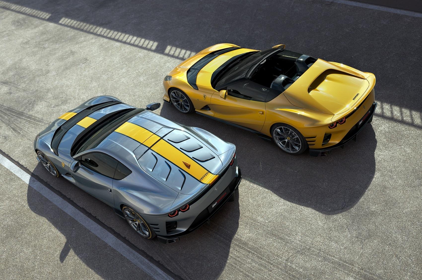 812 Competizione and 812 Competizione A: Two Interpretations of Ferrari's Racing Soul