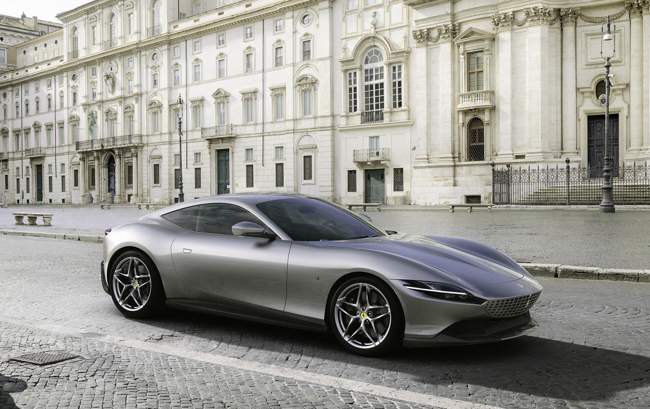 Ferrari Debuts New Ferrari Roma